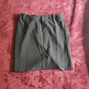 The Limited all black pencil skirt size 8